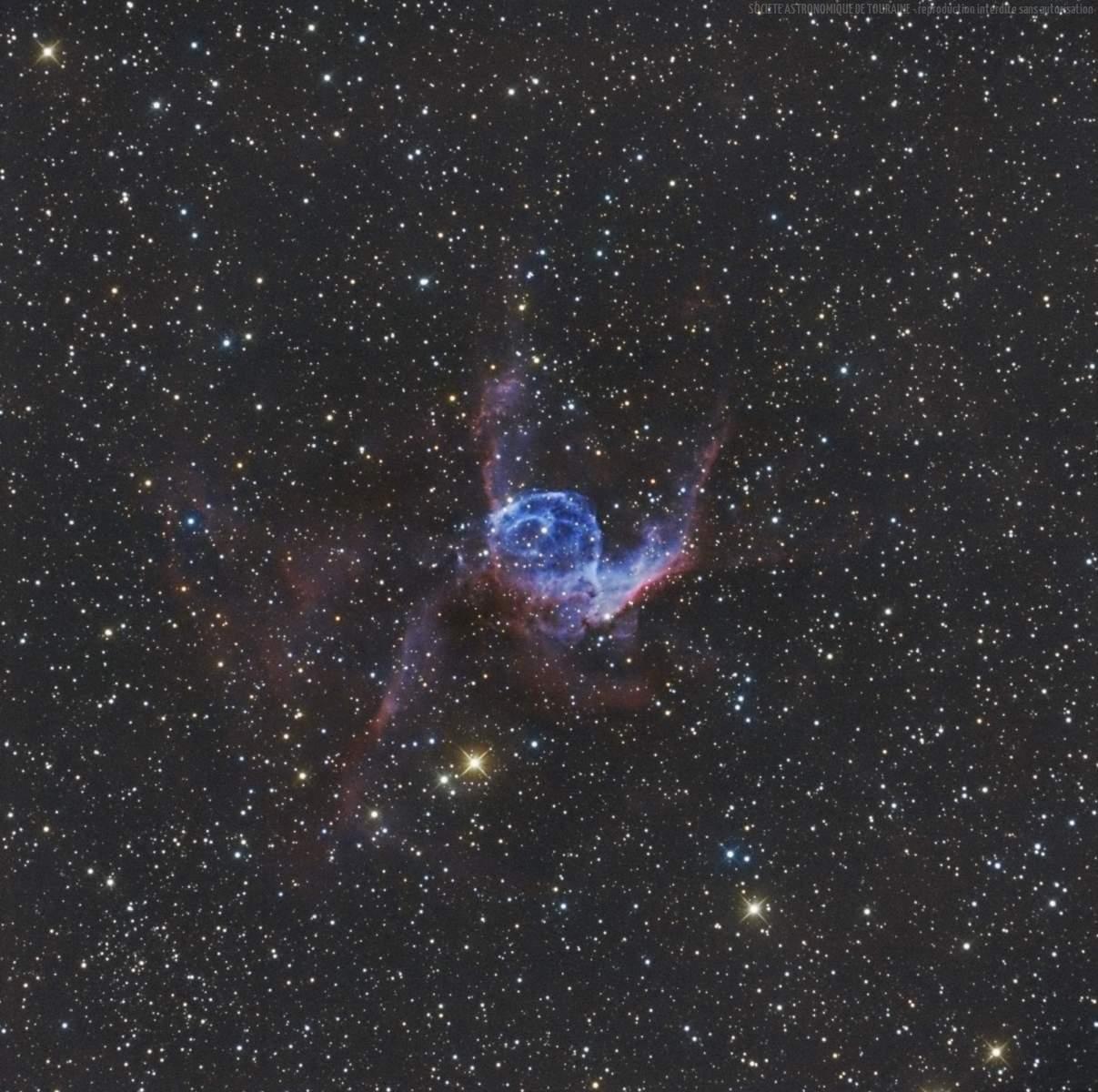 NGC 2359 - Le Casque de Thor